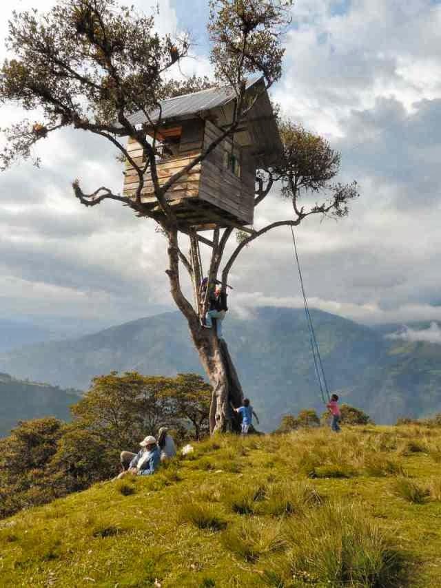 أرجوحة نهاية العالم في الإيكوادور
