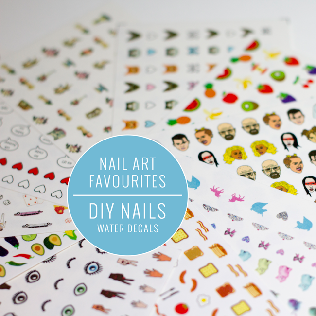 Nail Art Favourites: DIY Nails Water Decals