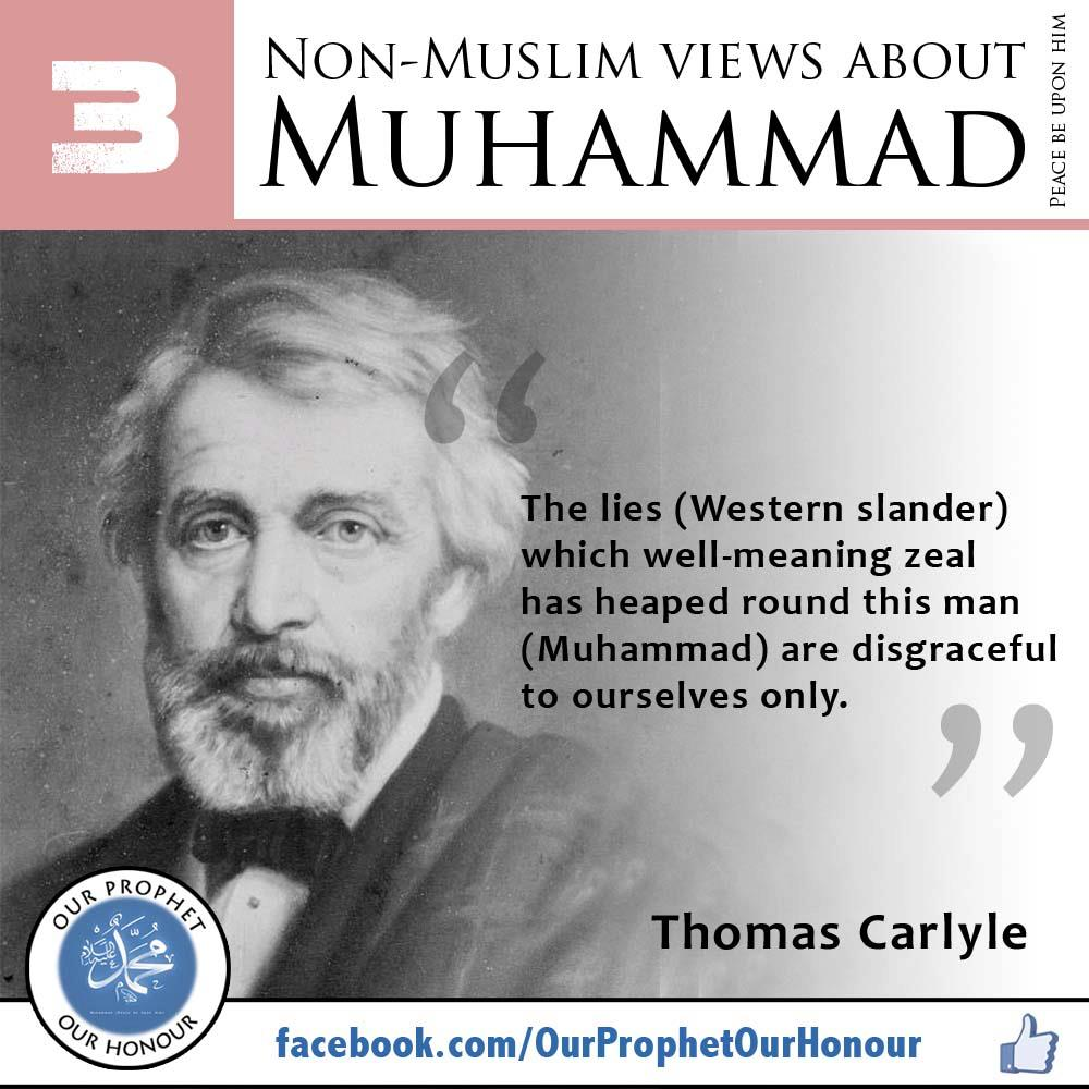 non muslims view on prophet muhammad essay The islamic prophet muhammad  he wrote in a 1924 essay after reading the colorful prophet  non-muslims might someday view offensive images.