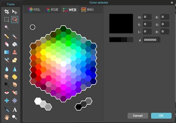 Merubah warna foto