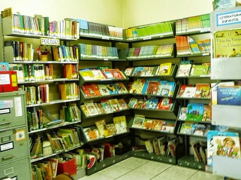 O Cantinho da Leitura Infantil na biblioteca