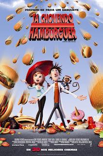 Pôster nacional e crítica de TÁ CHOVENDO HAMBÚRGUER (Cloudy With a Chance of Meatballs)