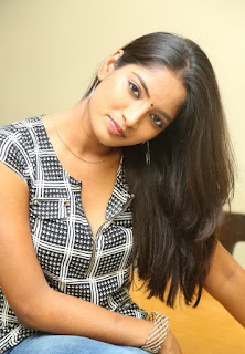 Actress Keerthi  Pictures in Jeans at TLLILKBL Press Meet  6.jpg