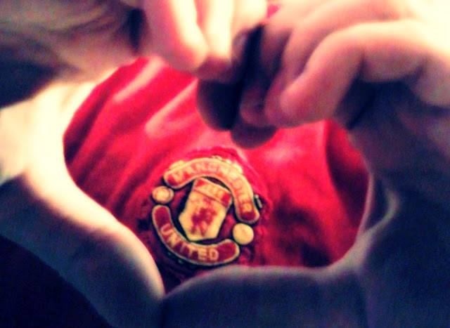 Red Heart Manchester United