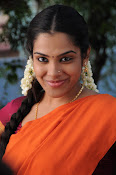 Sandhya new photos in half saree-thumbnail-5