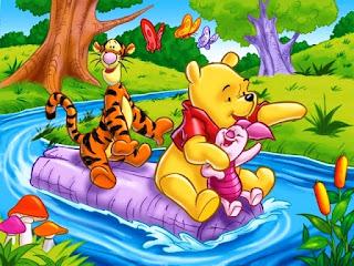 Kartun Winnie The Pooh wallpaper