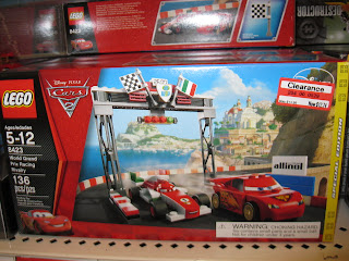 LEGO World Grand Prix Racing Disney Cars