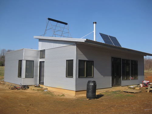 Prefab homes passive solar house kits green modern kits for Passive solar prefab homes