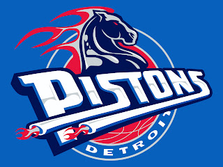 Detroit Pistons Logo Blue HD Wallpaper