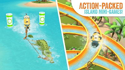 Minions Paradise v6.1.2350 Apk Mod (Lots of Money) 1