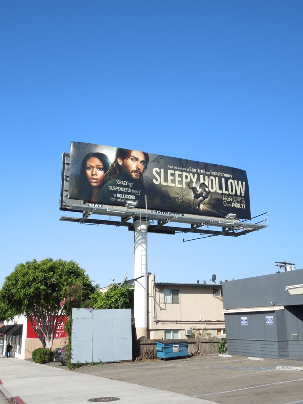 Sleepy Hollow series premiere billboard
