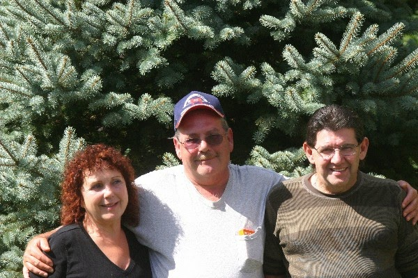 My husband,Rich,on far right,miss him so much...he is with his younger brother