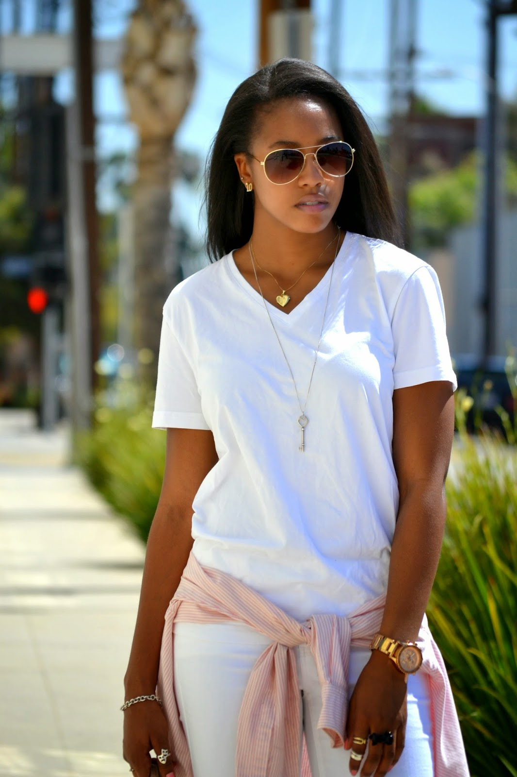 how to style HM aviator sunglasses