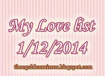 love gratitude list thankful