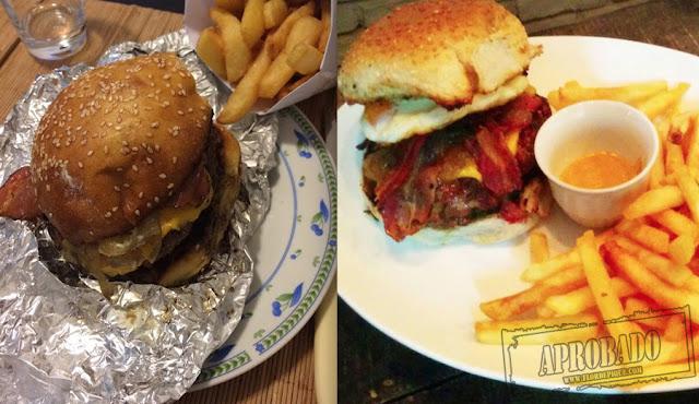como son hamburguesas de Burgers Pocitos