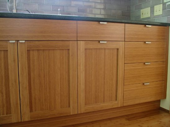 Cabinets for kitchen bamboo kitchen cabinets for Bamboo kitchen cabinets