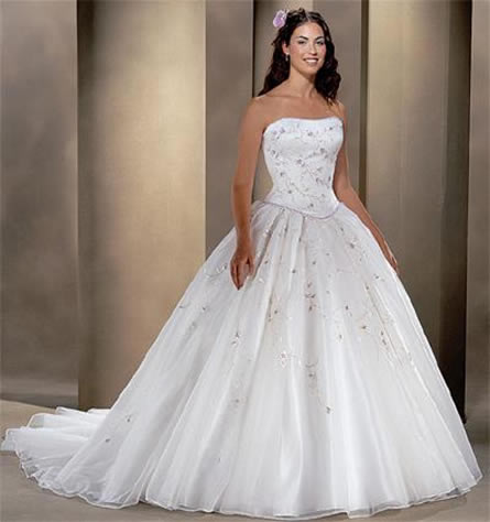 Celebrity today latest most beautiful wedding dresses for Most unique wedding dress designers