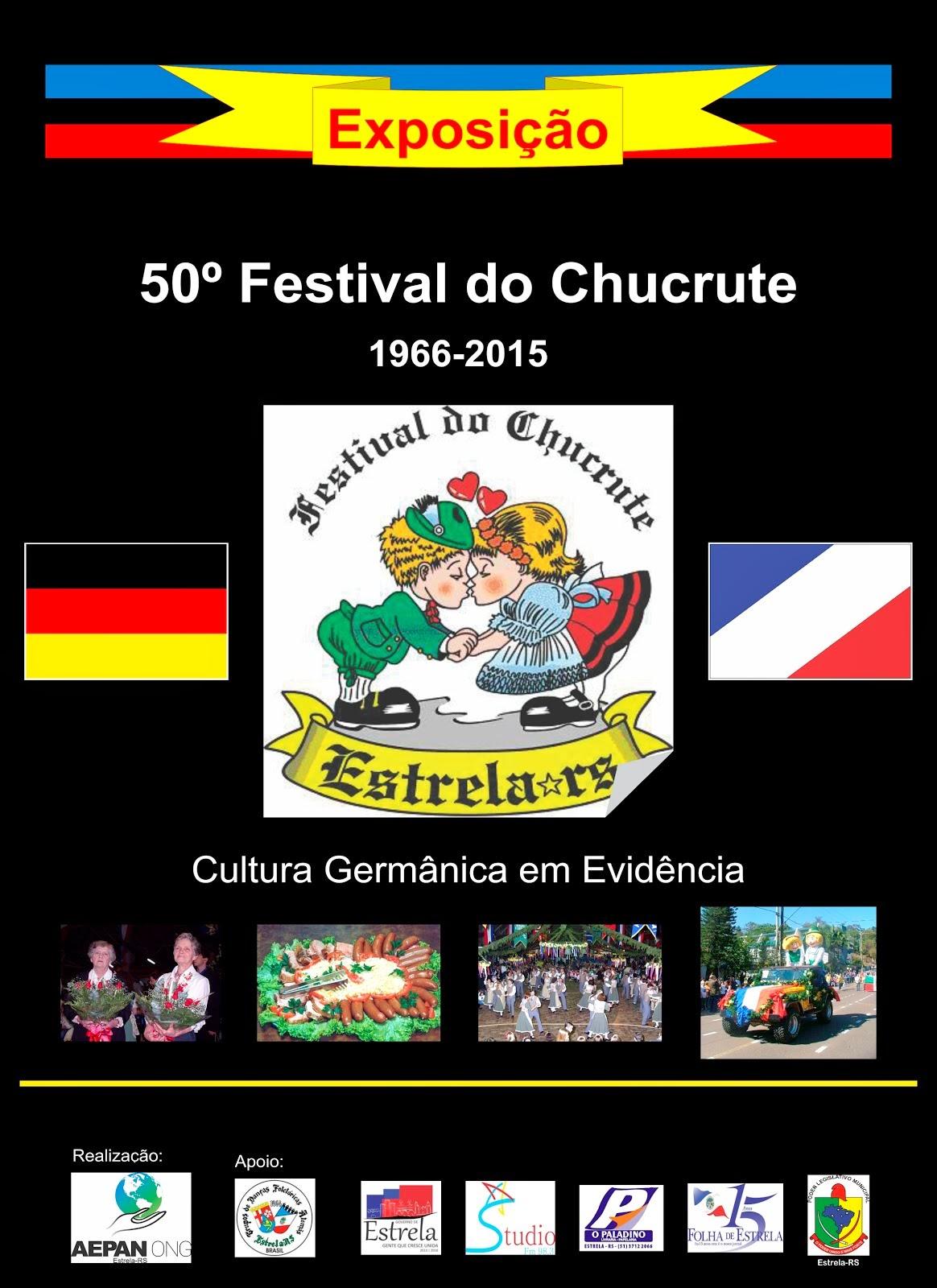 Exposição - 50 Anos do Festival do Chucrute