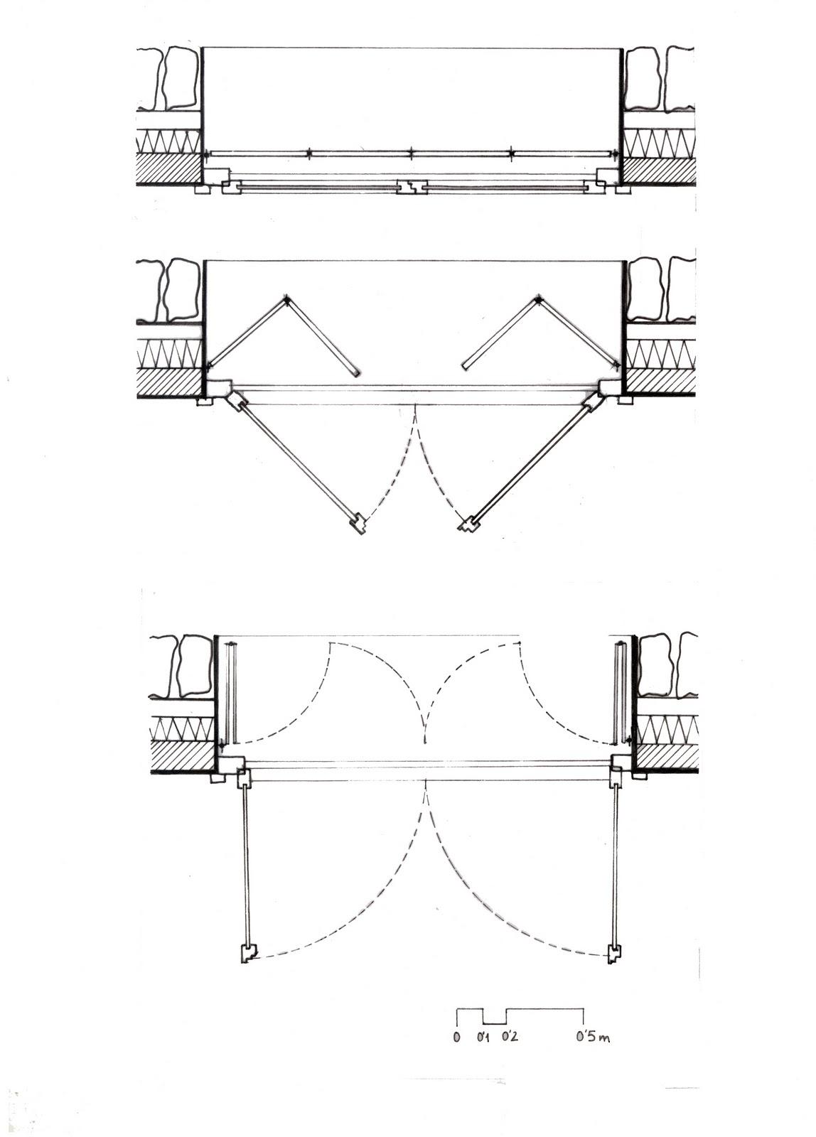 Casa de piedra an lisis de la obra for Simbologia de puertas en planos arquitectonicos
