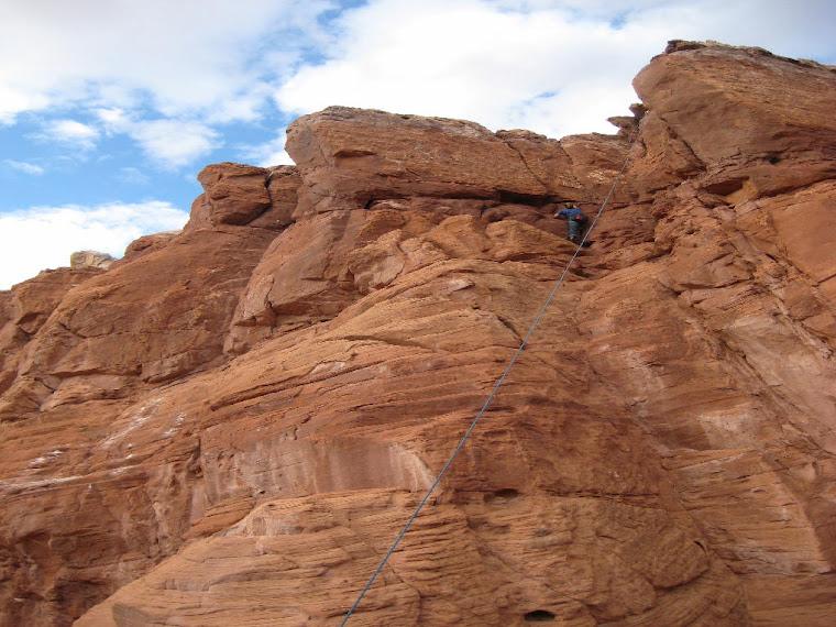 Rock Climbing in Three Turkeys