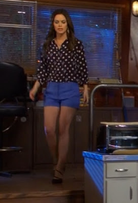 "Zoe's L'AGENCE Tailored Shorts Hart of Dixie Season 2, Episode 18: ""Why Don't We Get Drunk?"""