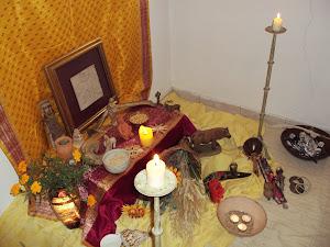 LAMMAS tempo de honrar a Deusa no Seu aspeto Mãe e de agradecer por toda a abundância recebida