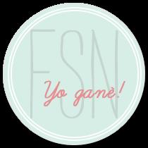Ganadora reto FSN Mayo 2015