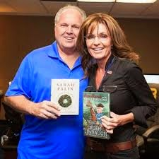 Rush Limbaugh and Sarah Palin