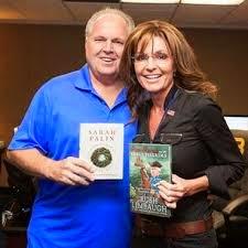 Rush Limbaugh and Sarah Palin
