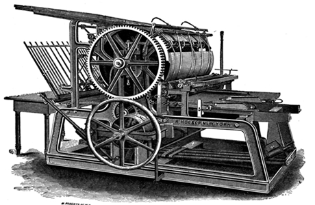 Sejarah Penemuan Mesin Cetak