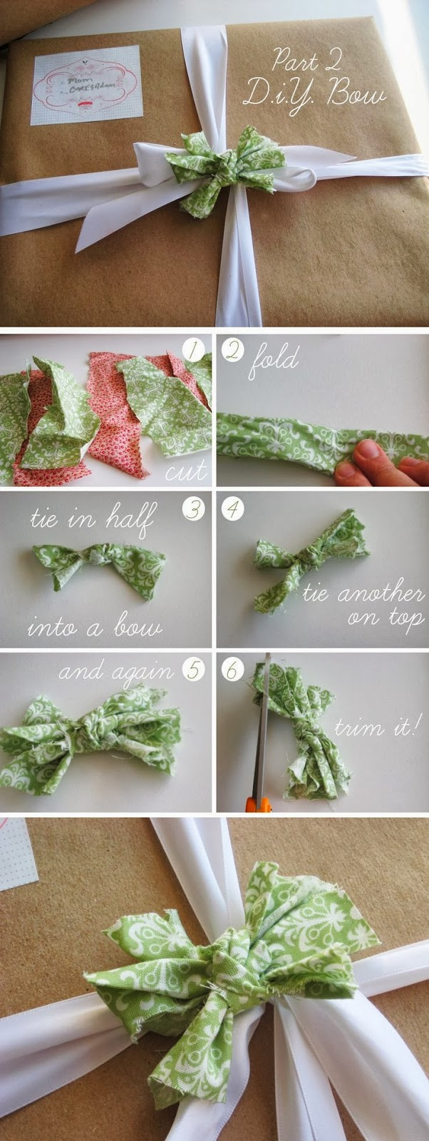 Bow bows do it yourself crafts homemade easy crafts for Diy craft projects easy