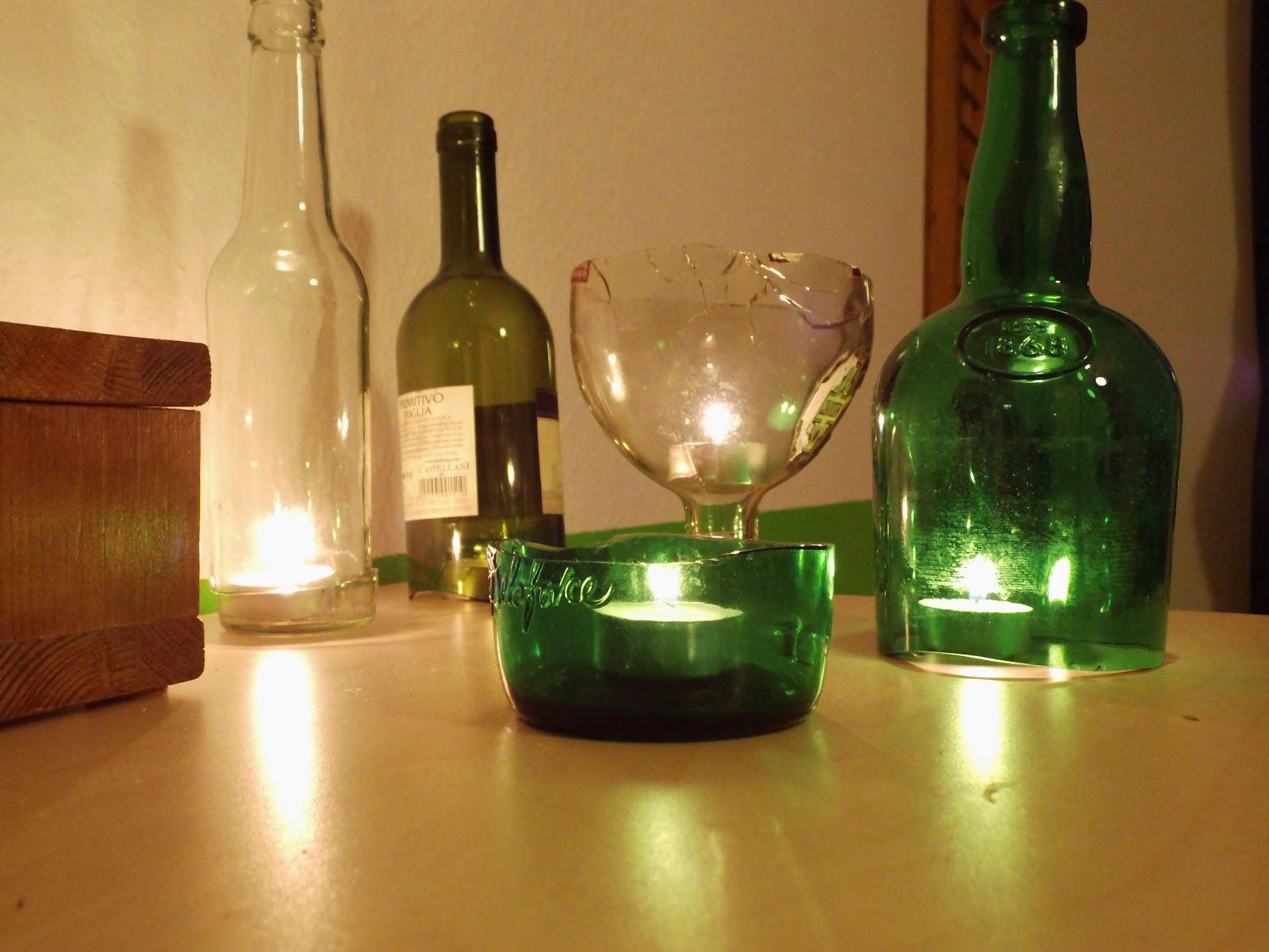 gesehen und gesehen werden flaschenkerzen tutorial. Black Bedroom Furniture Sets. Home Design Ideas
