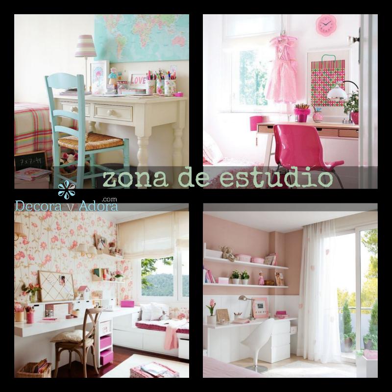 Decora y adora zona de estudio for Zona de estudio