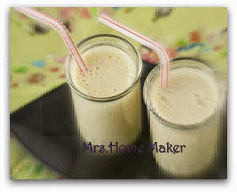 Tofu Soy Milk Smoothie