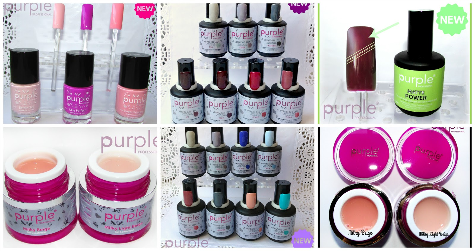 Novidades Purple Professional - Gel Polish, Builder Gel, Nail ...