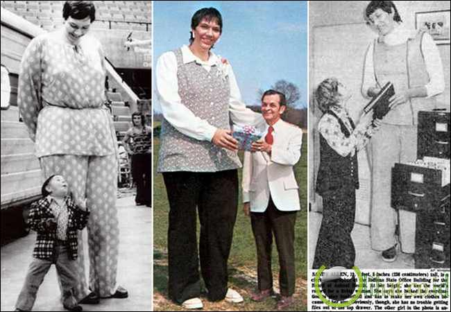 Sandy Allen (7ft 7¼ in - 232 cm)