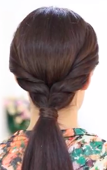 Easy Everyday Pony Tail Hair Tutorial