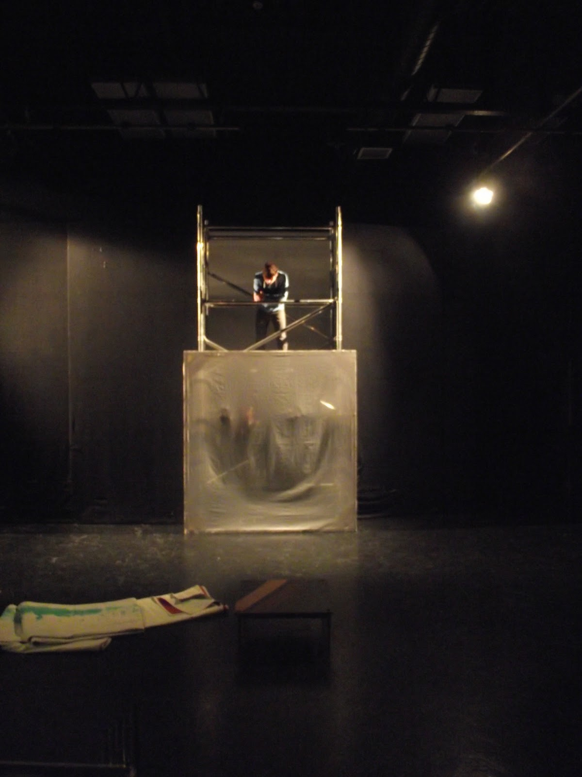 creative rehearsal process Devised theatre is created during the rehearsal process, as opposed to a staged version of an extant script in a 'conventional' rehearsal process, while the director and.