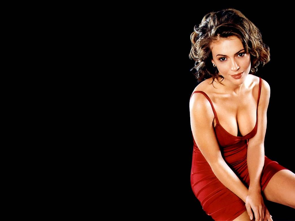 alyssa milano the best wallpapers of the web