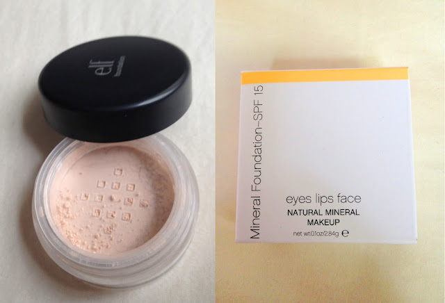 elf mineral foundation