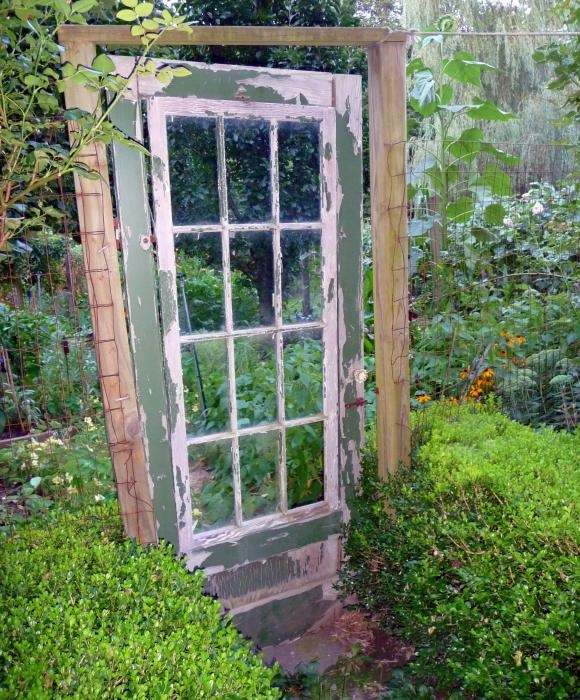 how to recycle recycling old doors