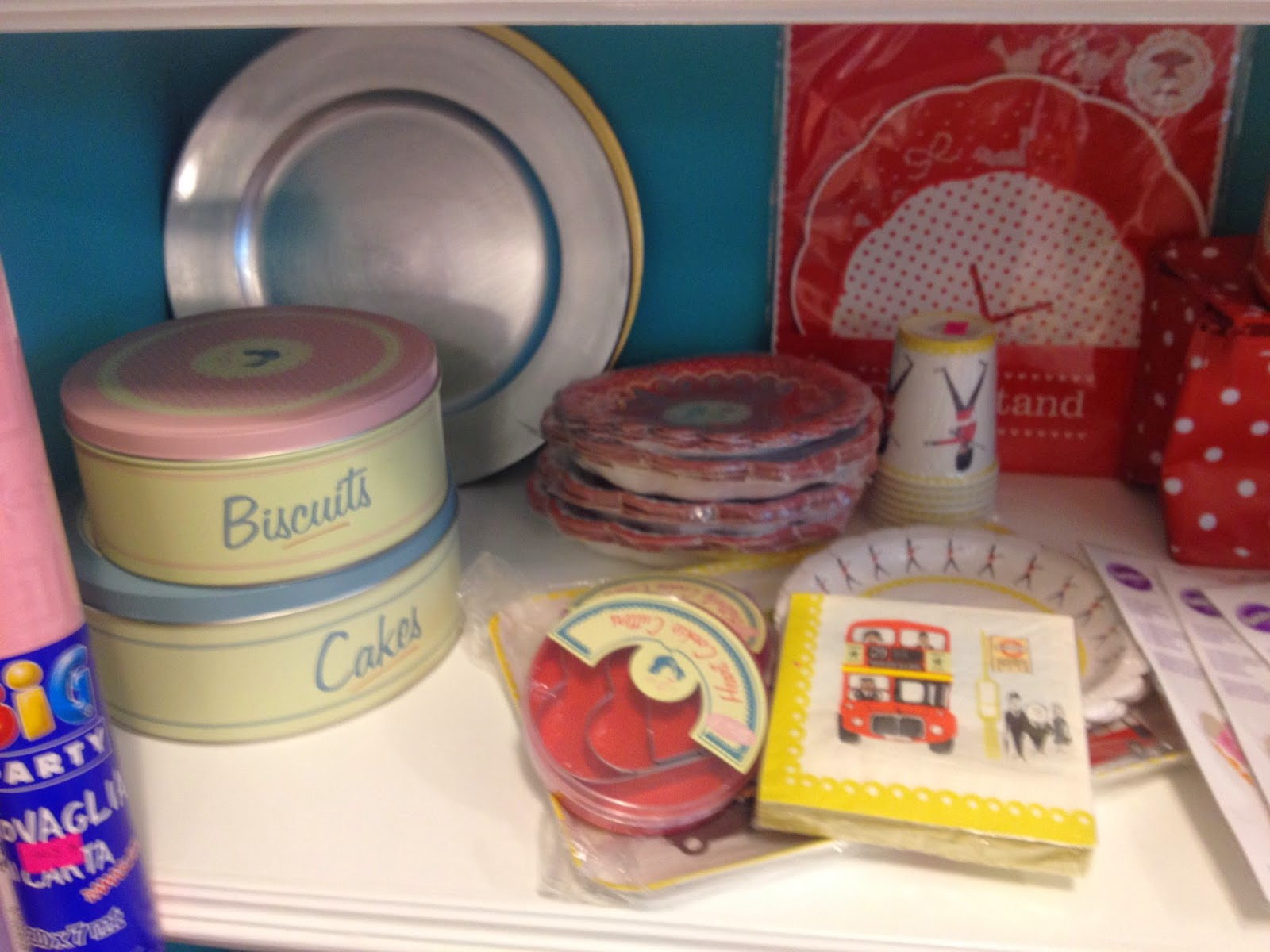 baby cake, accessori per feste e torte