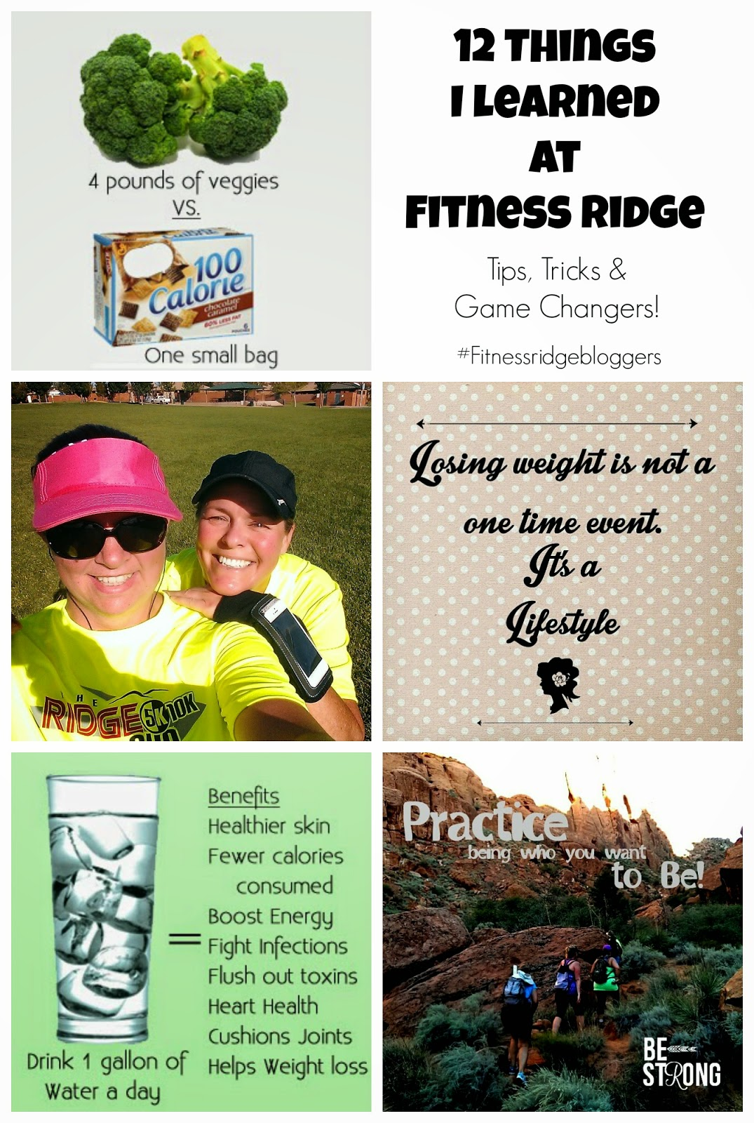 12 things I learned at Fitness Ridge Ranch #fitnessridgebloggers #healthtips