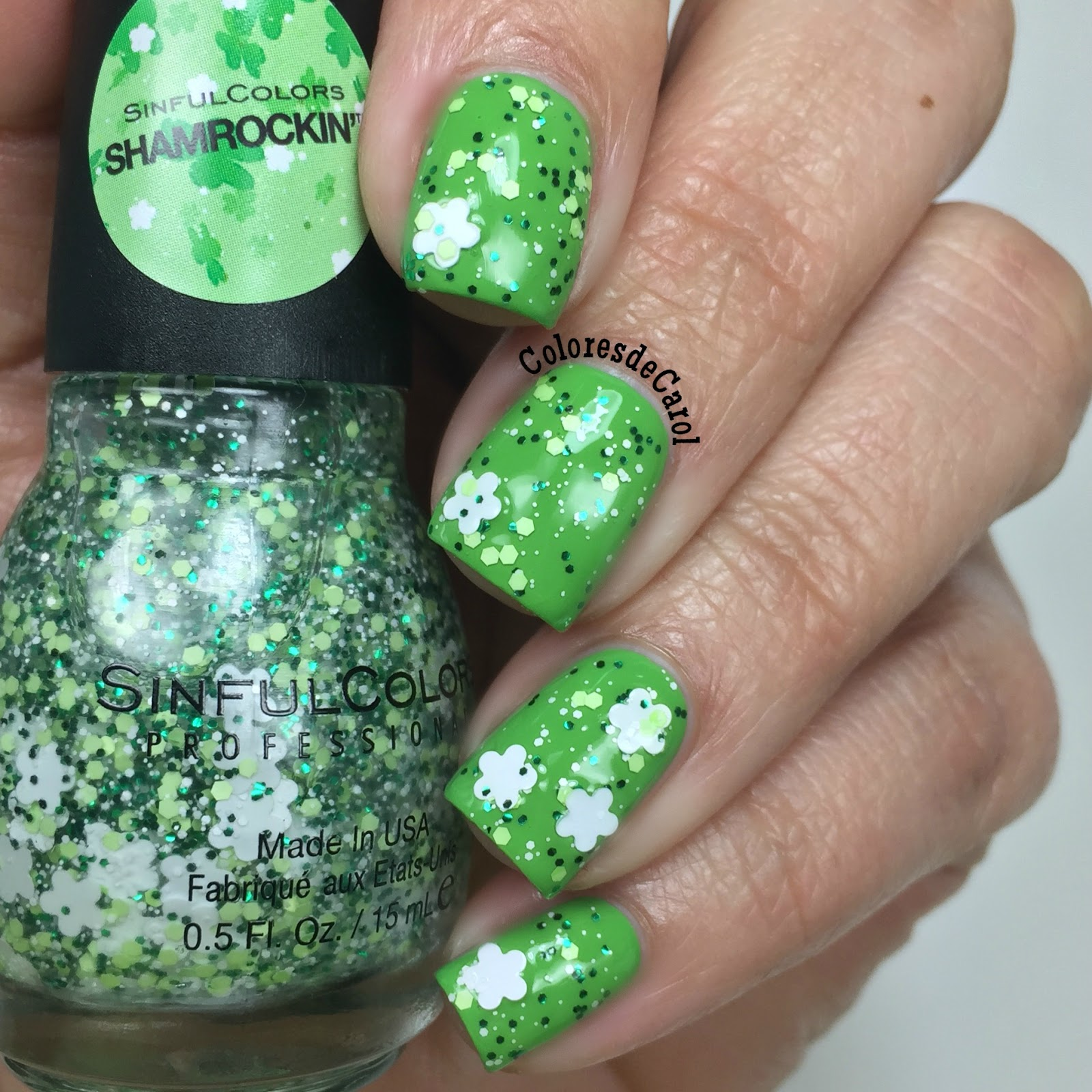 Colores de Carol: Top 8 Green Nail Polishes for St. Patrick\'s Day