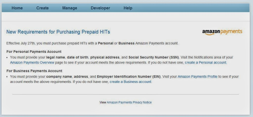 Amazon Mechanical Turk Blog