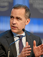Mark Carney, governor of the Bank of England. (Photo Credit: Wikipedia)  Click to Enlarge.