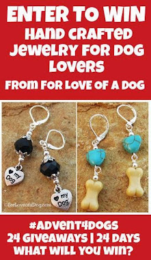 Enter to win For Love of a Dog Earrings!