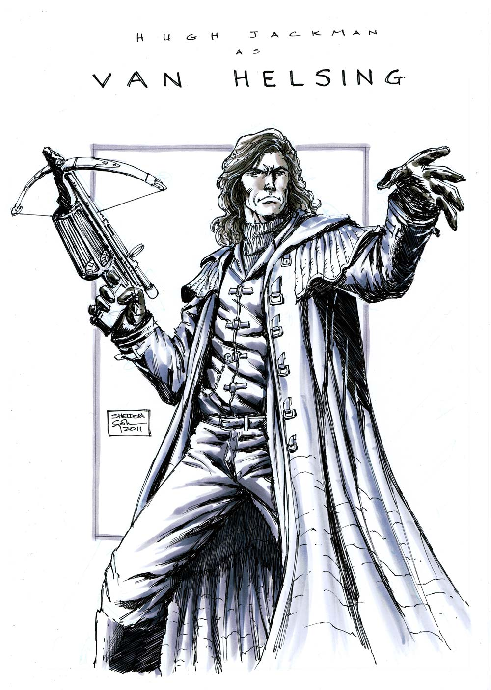 Van Helsing Drawing With van helsing instead Van Helsing Drawing