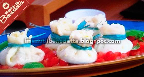 Finte burratine la ricetta di benedetta parodi for Mozzarella in carrozza parodi