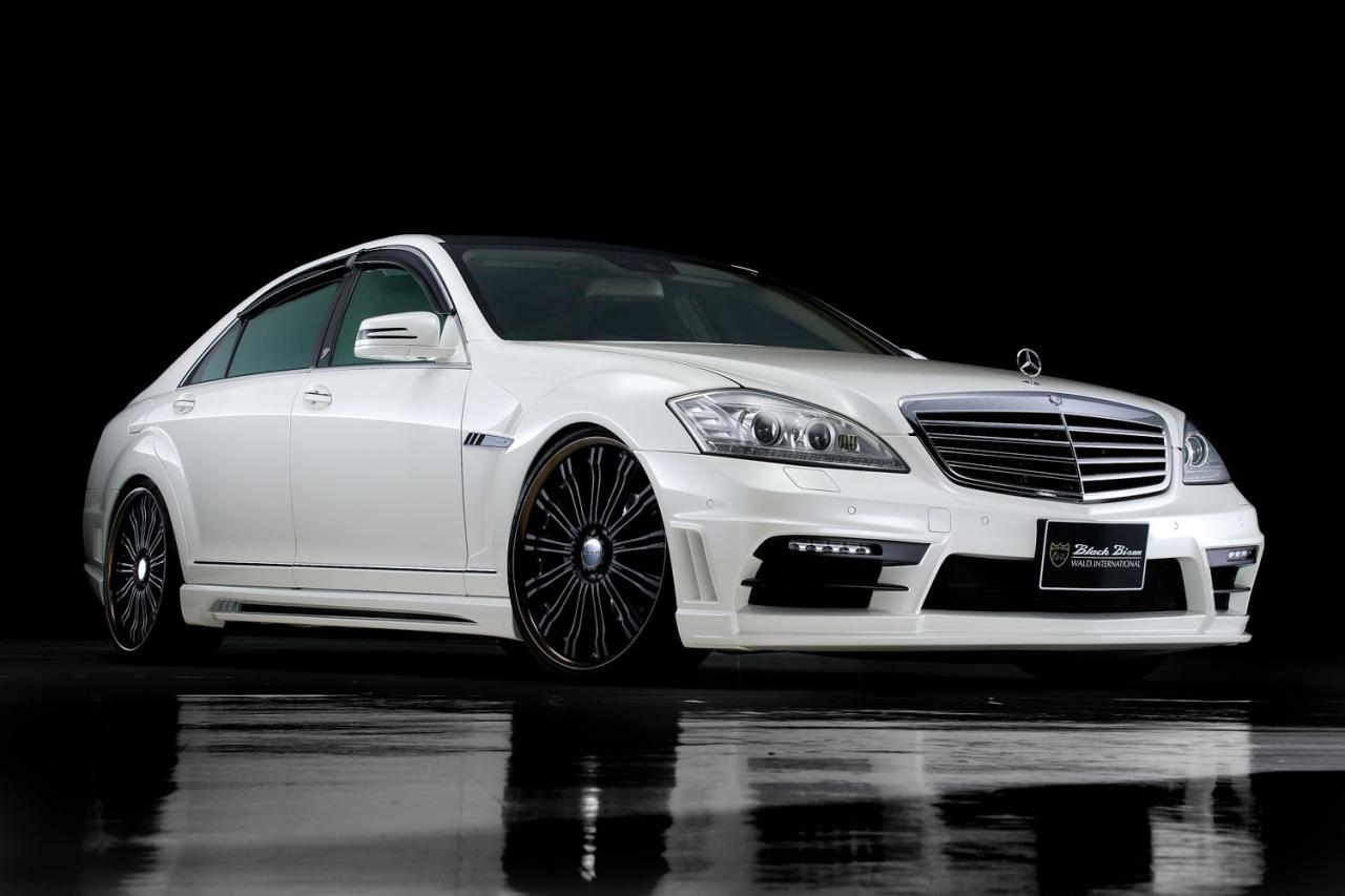 Black bison edition tuning package for the w204 mercedes benz c class - Mercedes Benz S Class Black Bison Edition Styling Kit For W221